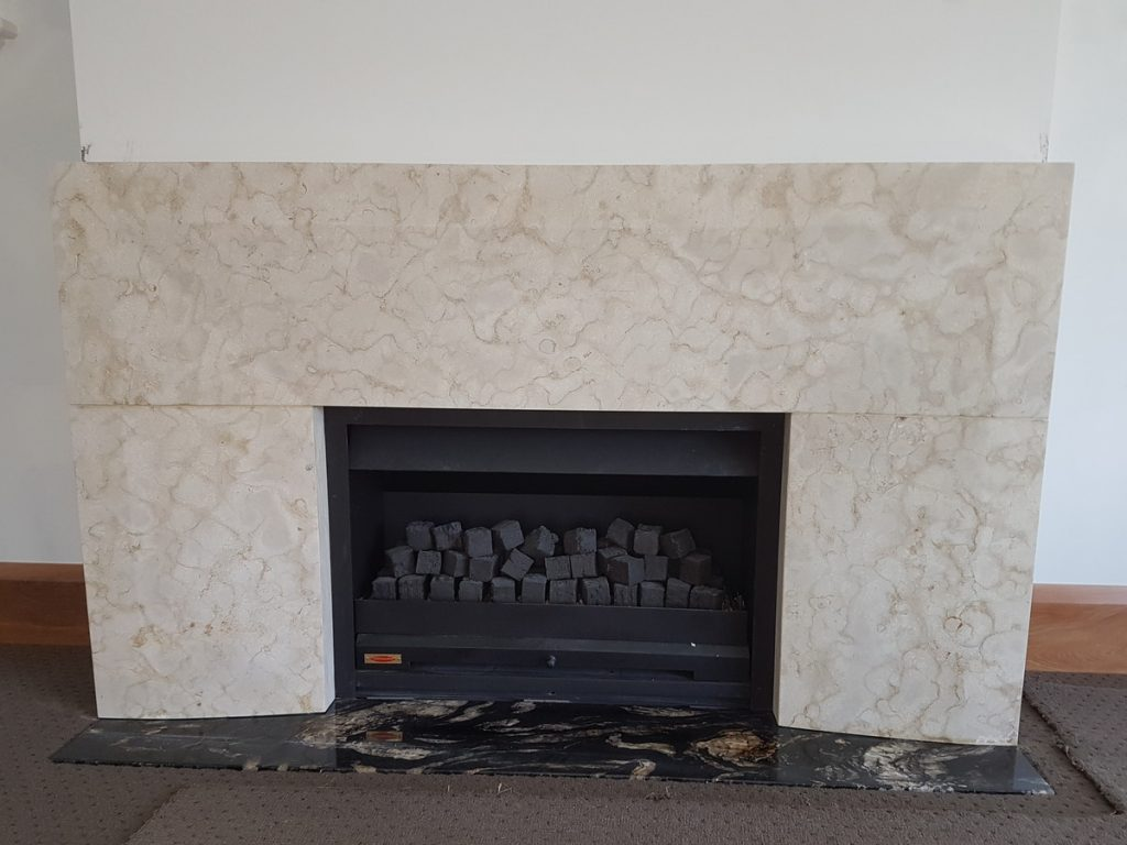 Mt Somers Limestone fire surround